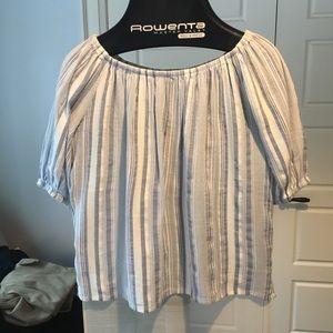 NWOT Loft Outlet off shoulder shirt